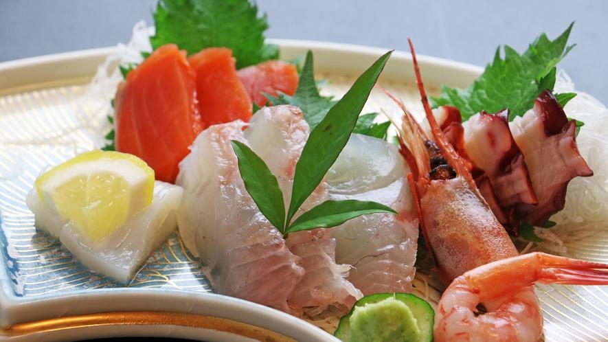 (夕食単品一例)旬の食材を彩り鮮やかに