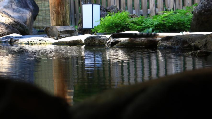 加水、加温、循環ろ過、塩素消毒を一切していない「本物の源泉100%かけ流しの温泉」