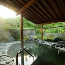 *露天風呂(女湯)/自慢の元湯源泉の露天風呂