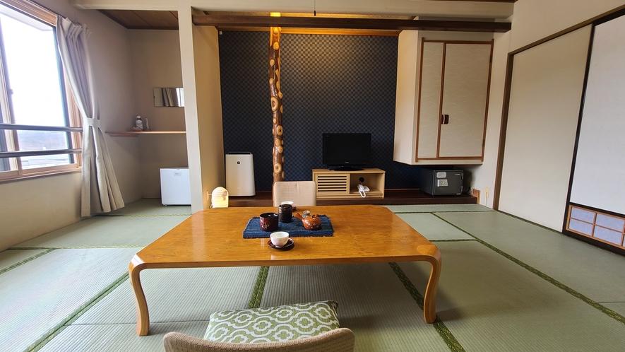 【新館10畳 】『カップル』、『家族』に人気のお部屋タイプです。