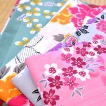 *色浴衣/彩り豊かな浴衣を着て、草津温泉街をそぞろ歩く。風情たっぷりの温泉観光を満喫下さい。