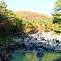 *西の川原公園/360度自然に囲まれた大露天風呂!圧倒的な広さと大自然に抱かれた心地よさを体感下さい