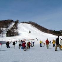 *草津国際スキー場/ウィンターイベントも豊富で、温泉街からもアクセス良好のスキー場です