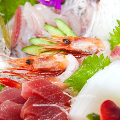 (夕食)南紀の新鮮魚介盛り