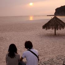 (周辺観光)白良浜でロマンチックなひととき