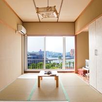(客室)静かで綺麗な海☆田辺湾を一望できる和室