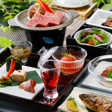 「露天風呂付客室に泊まる」阿蘇の恵みプラン/個室食