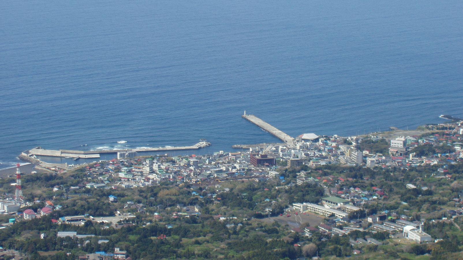 *伊豆大島の景色