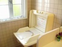 共有トイレ内設置 ベビーシート