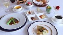 *【フランス料理一例】肉料理・魚料理など本格的なフランス料理に舌鼓