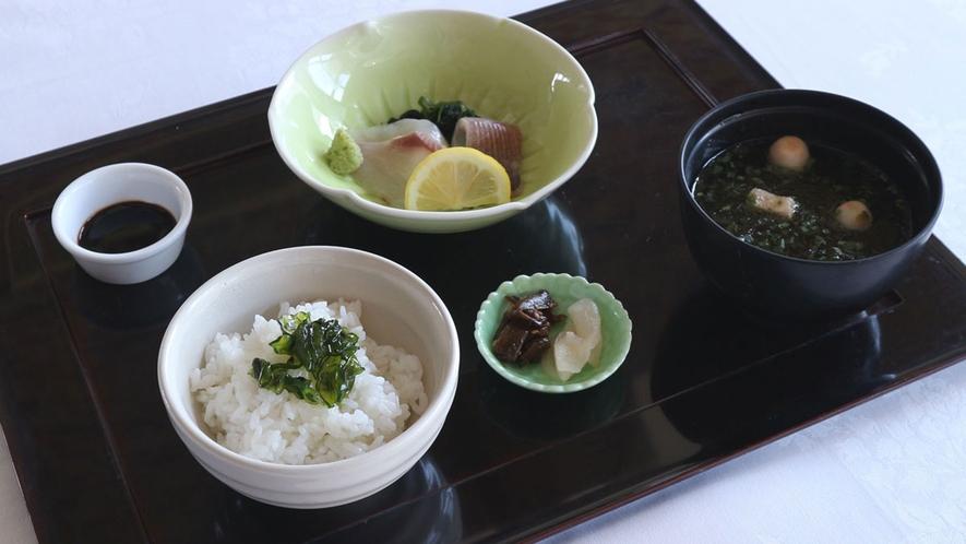*【オプション例】メインはフランス料理、パンスープを和食に変更することが可能です(別途500円)