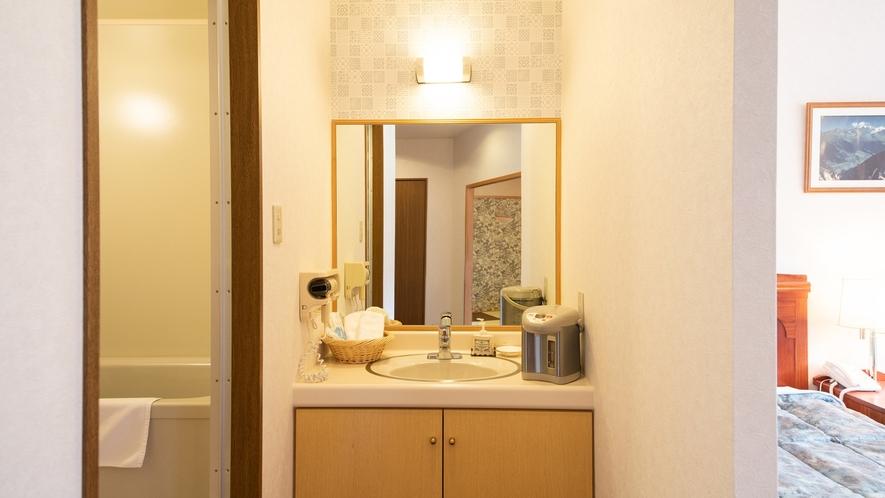 *【特別室】うれしい洗面台