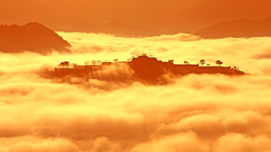 *【竹田城】雲海を見るためには、秋から冬にかけての早朝がオススメ