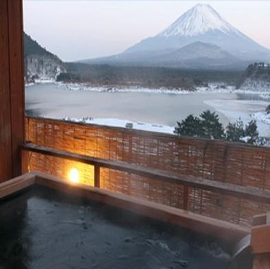 【山田屋ホテルの定番プラン!】 富士山絶景精進湖ゆうゆうプラン♪