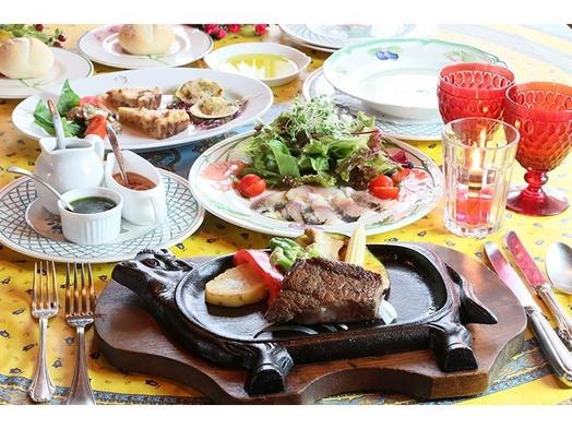 サーロインステーキプラン★赤身とサシのバランス◎美味いお肉が食べたい【ペット同伴可・アッパレしず旅】
