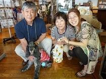 浜名湖の犬雑貨のラリーズカンパニーは目の前。宿泊記念のお土産だワン!
