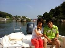 ワンちゃんも一緒に浜名湖遊覧