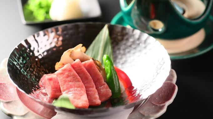 【贅沢会席コース】石焼き信州プレミアム牛を生わさびで■香る蕎麦と旬の味【信州割SPECIAL対象】