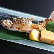 ■【追加料理】岩魚の塩焼き