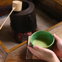 ◆【囲炉裏】抹茶サービス(税抜500円)ございます。