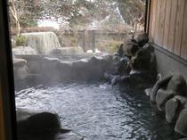 【貸切露天風呂】「大谷川」雪の季節
