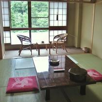 北館6階(南館向き)のお部屋一例