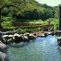 【露天風呂「大谷川」女性用】グリーンシーズン