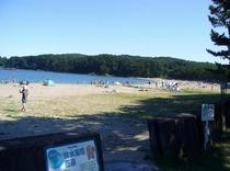 小田の浜海水浴場(車で5分)