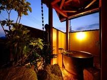 露天風呂付き客室10畳