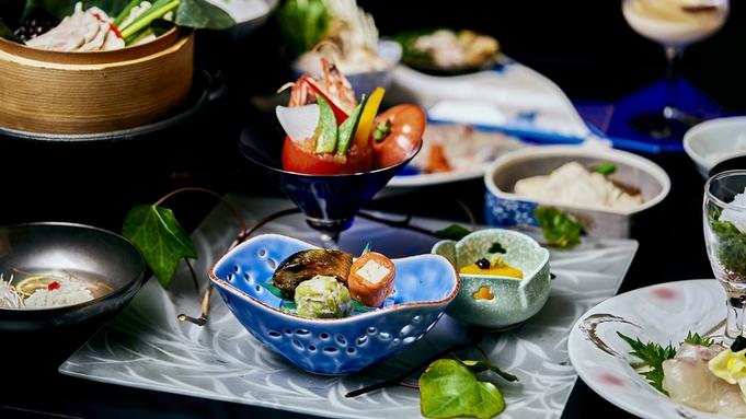 〜基本会席〜【-月仙会席- 夕食:半個室確約】鯛しゃぶをご堪能『鯛しゃぶ会席』