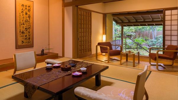 【露天風呂つき】◆月庭-tsukitei-◆(和8帖)禁煙