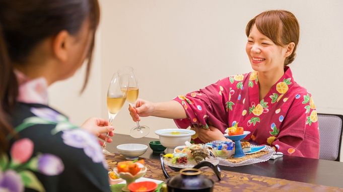 【雅仙会席&ペアリング〜琥珀〜:半個室確約】『長崎県産牛×アワビ』山海の旨みに合わせたお酒を味わう