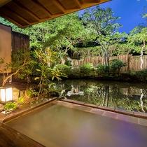 【露天風呂つき客室 月庭-TSUKITEI-】