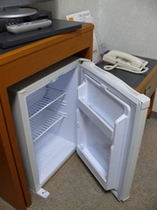 全室に空冷蔵庫あります