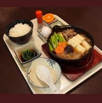 肉鍋定食(夕食)
