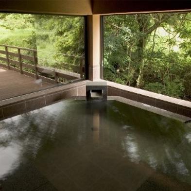 【カップルにオススメ・露天風呂付客室】源泉かけ流しの温泉を満喫旬を味わう『2食付スタンダートプラン』