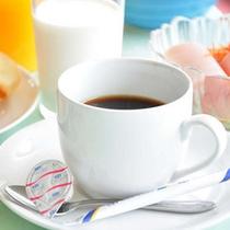 朝食バイキングコーヒー