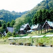 山々に囲まれたvillaは別荘気分でご利用いただけます。目の前にはBBQ広場も★