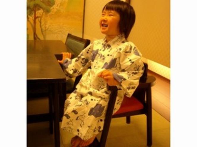 お子様用・椅子と浴衣
