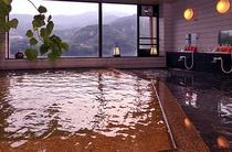 箱根連山を眺めながらのいで湯が気持ちいい