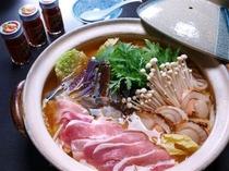 【夕食例】かんずり鍋