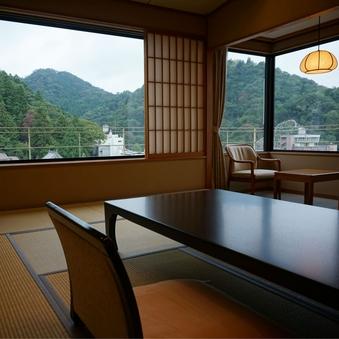 【華野館】高層階の眺望の良い和室10畳<4階〜5階>