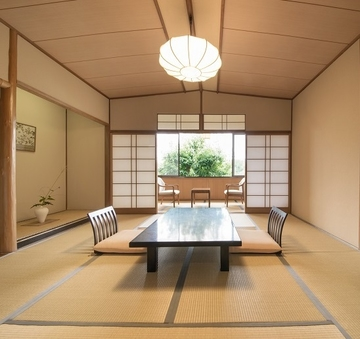【風景館(本館)】木造の和室8畳(お食事処)<2階>