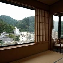 【華野館】高層階のお部屋からの眺望