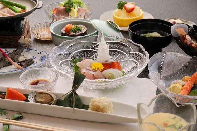 【夏会席】料理写真イメージ
