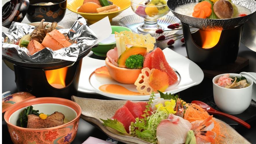 ★秋・冬 夕食膳の一例