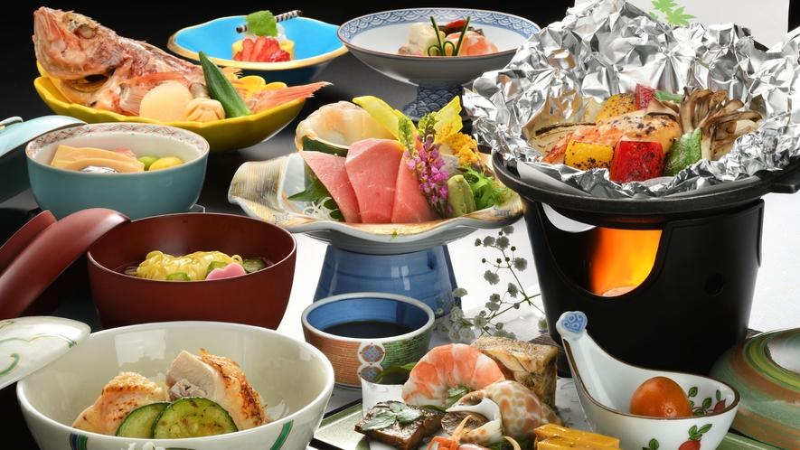 ★春・夏 夕食膳の一例