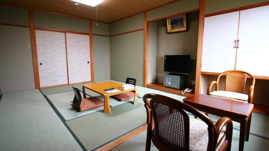 北アルプス眺望客室【和室12~13畳】ごゆっくりお寛ぎ下さい