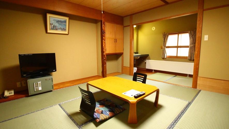 リーズナブル客室【和室10~13畳】一例 ごゆっくりお寛ぎ下さい