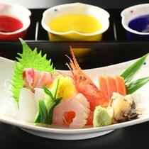 *日本海の旬の魚介をお出しいたします♪